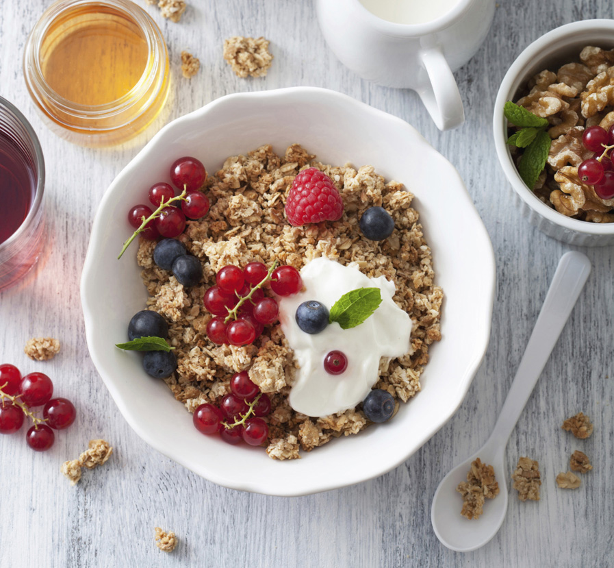Heartland Honey Granola
